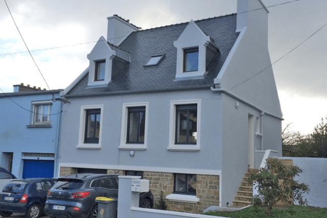 Travaux exterieurs - Trouver un peintre decorateur professionnel en Bretagne dans le Finistere - Peintures Decorateurs Onip