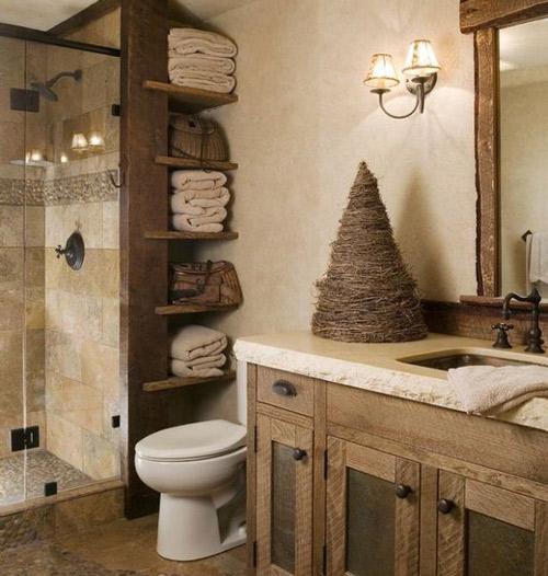 Decoration interieure en bois, Ambiance rustique - Peintres Decorateurs Onip