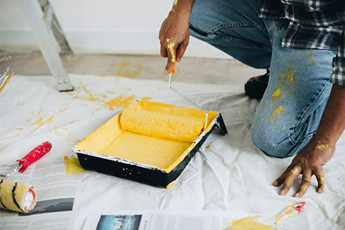 professionnel peintre decorateur