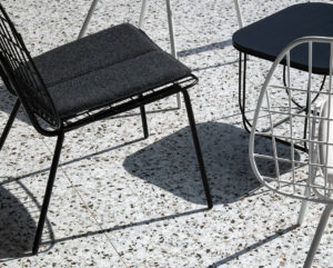 integrer terrazzo sol salon